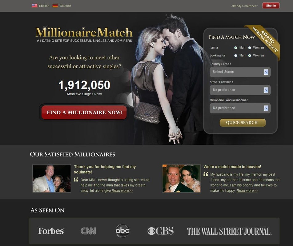 Millionaires dating site usa